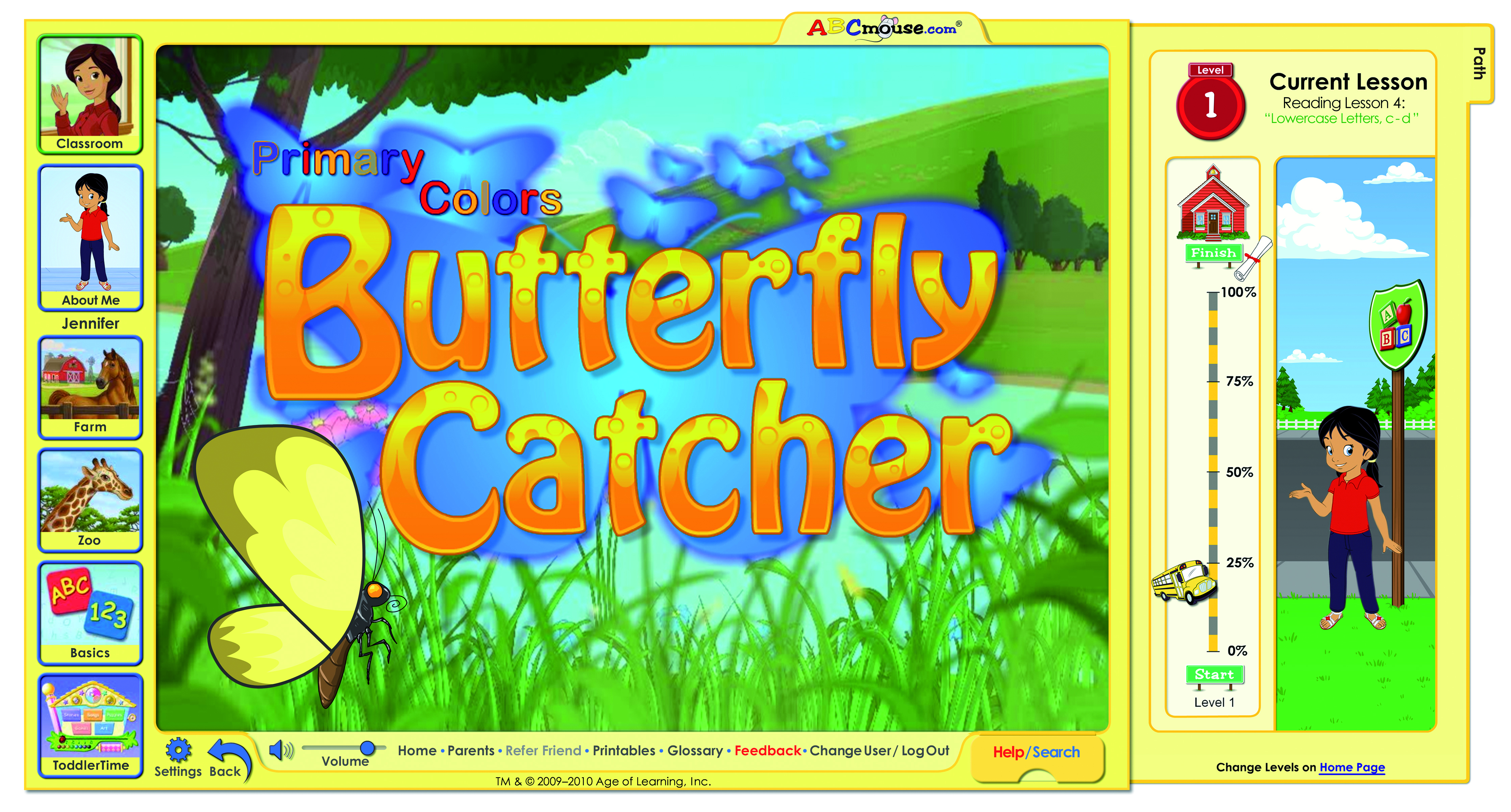 Butterfly Catcher Game