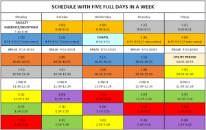Schedule-Regular